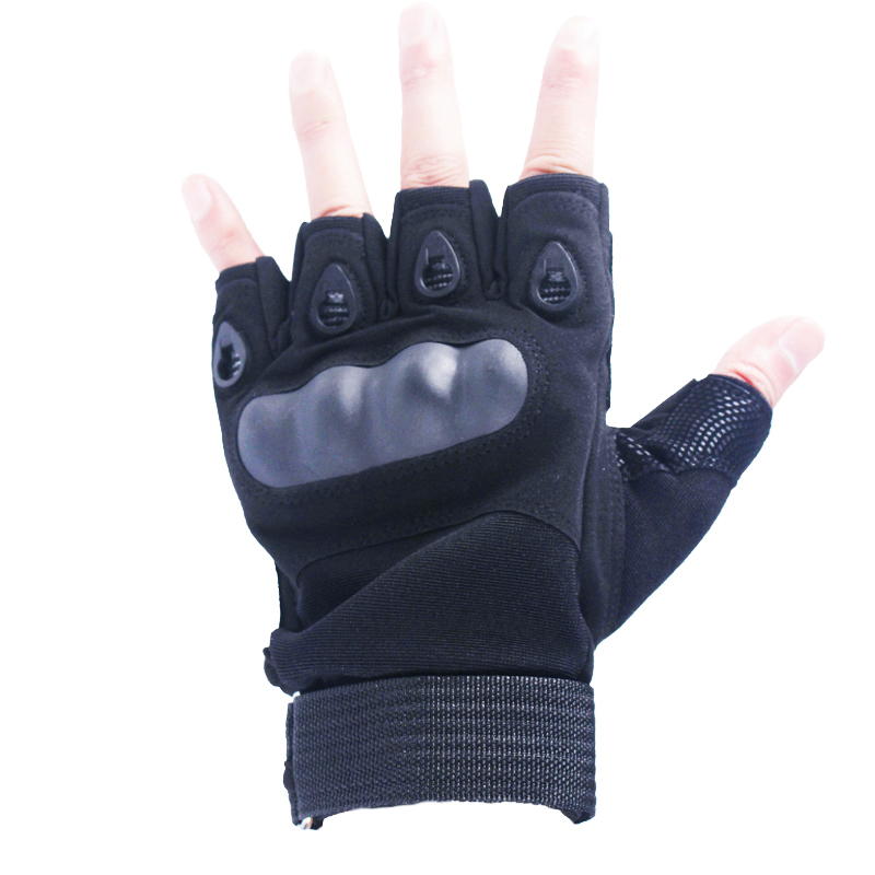 New Army Tactical Gloves Military Outdoor Sports Shooting Airsoft Fingerless Gloves Motorcross Hard Knuckle Half Finger Gloves