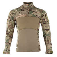 Männer 2019 Nachrichten Kampf Shirts Bewährte Taktische Kleidung Militär Uniform CP Camouflage Airsoft Armee Anzug Atmungsaktiv Arbeit Kleidung