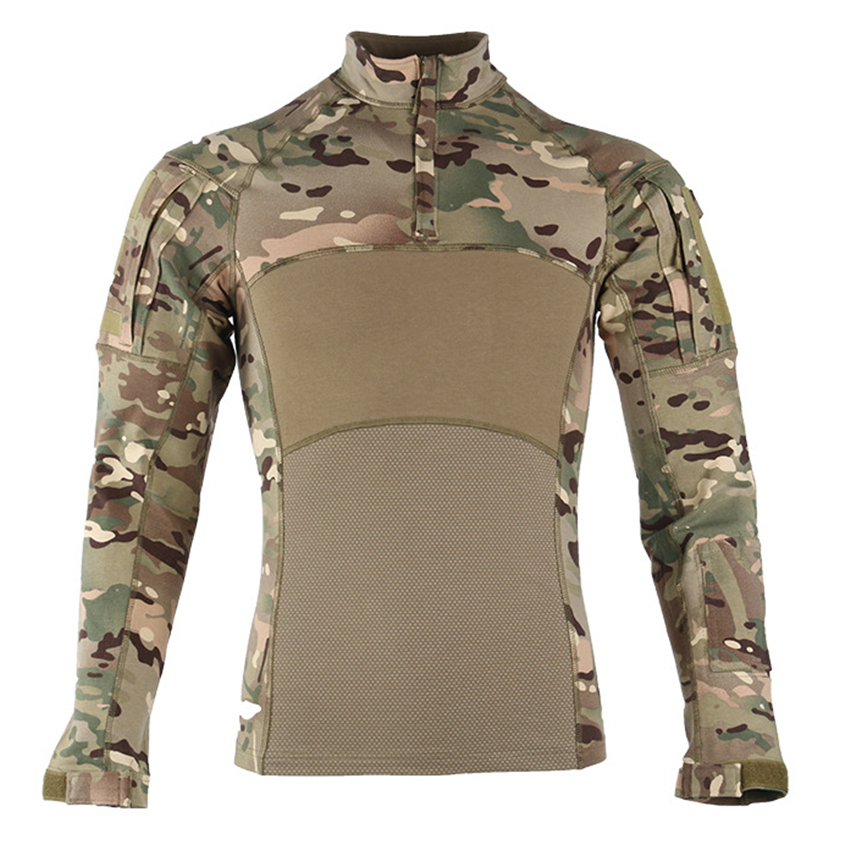 Men 2020 News Combat Shirts Proven Tactical Clothing Military Uniform CP Camouflage Airsoft  Army Suit Breathable Work Clothes
