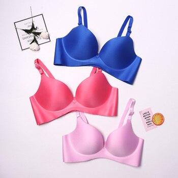 Sexy Deep U Cup Bras For Women Push Up Lingerie Seamless Bra Bralette Backless Bras Intimates Underwear Hot 4