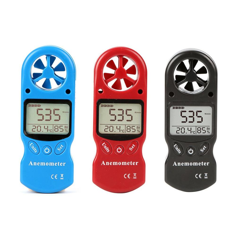 3 In 1 Mini LCD TL-300 Wind Speed Temperature Humidity Meter Multipurpose Anemometer Digital Anemometer Measuring Tools