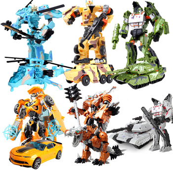 Transformation Robot Car Action Figures Toy 19cm Plastic Deformation Car Robot Boy Xmas Birthday Gift Education Toy For Children цена 2017