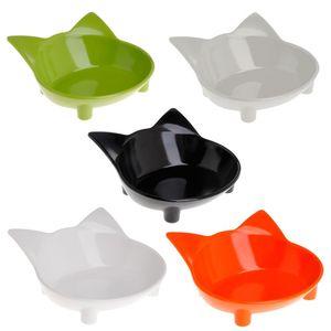 Кормушка-миска для домашних питомцев, нескользящая собачка, кошка, щенок, посуда, посуда для питья, вода в форме кошки, милые экологические п...