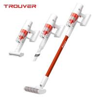 TROUVER-cepillo de eliminación de ácaros xiaomi mijia, aspiradora de mano inalámbrica, succión ciclónica de 20000Pa, POWER 11