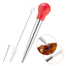 Marinade инжектор для приготовления мяса, птицы, индейки, курицы, барбекю, инструмент, ароматизатор, шприц, игла для жарки, вечерние аксессуары для приготовления пищи