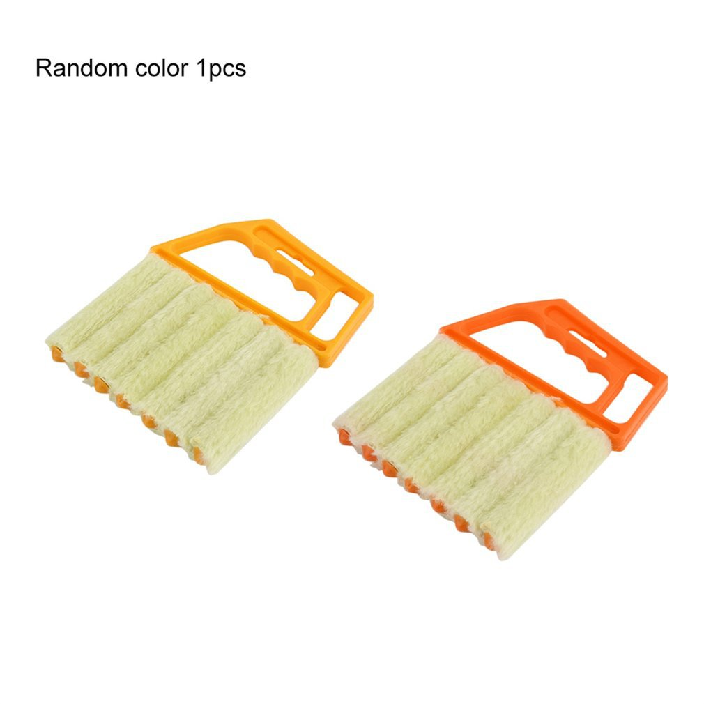 Multifunctional Venetian Blind Brush Window Air Conditioner Duster Dirt Dust Cleaning Cleaner Protable Home Clean Tool