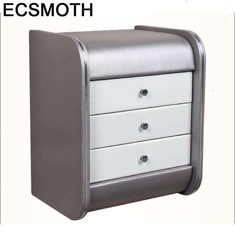 Kayu Armarios Mesillas Mesita Noche Para El European Pu Leather Cabinet Mueble De Dormitorio Quarto Bedroom Furniture Nightstand