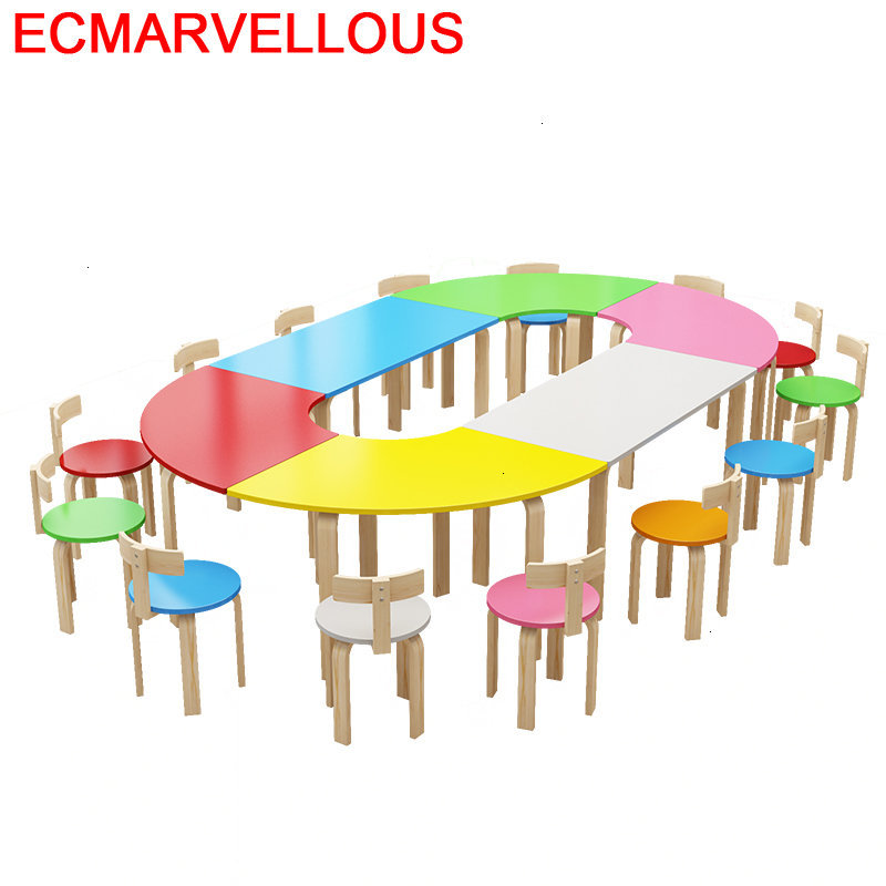 Chair And Silla Y Mesa Infantiles Cocuk Masasi Stolik Dla Dzieci Kindergarten For Kids Study Kinder Bureau Enfant Children Table