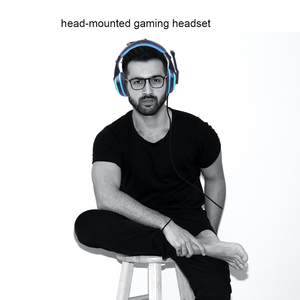 Image 3 - kebidu High Performance Adjustable Game Gaming Headphones 3.5mm Noise canceling Computer PC Gamers Headset With Mic