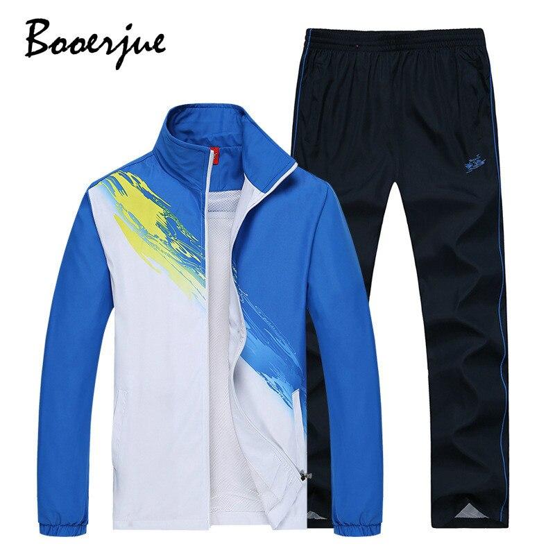 New Tracksuit Men Sportswear Set Training Suit 2 Piece Jacket+Pant Casual Streewear Polyester Sweat Suit Jogger Set Women 2020