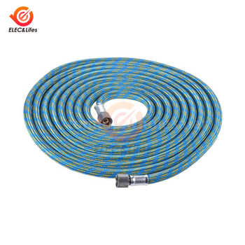 3M Nylon Braided Air Compressor Hose for Airbrush 1/8 to 1/8 Air hose connector coupling image