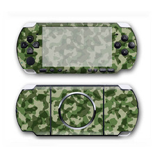 Camo Design Vinyl Skin Sticker Protector for Sony PSP 3000 Cover Decal for PSP3000 Game Accessories