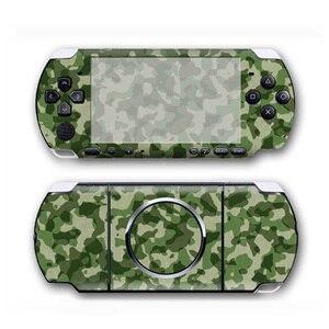 Image 1 - كامو تصميم جلد فينيل ملصق حامي لسوني PSP 3000 غطاء مائي لملحقات لعبة PSP3000