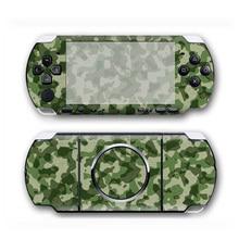 Protecteur dautocollant de peau de vinyle de conception de camouflage pour Sony PSP 3000 décalcomanie de couverture pour des accessoires de jeu de PSP3000