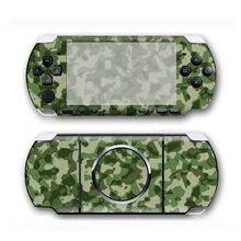 Камуфляжный дизайн виниловая кожа Наклейка протектор для Sony PSP 3000 Обложка Наклейка для PSP3000 аксессуары для игр