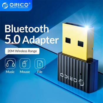ORICO Wireless USB Bluetooth Dongle Adapter 5.0 4.0 for Computer Speaker Mouse Bluetooth Music Audio Receiver Transmitter 1