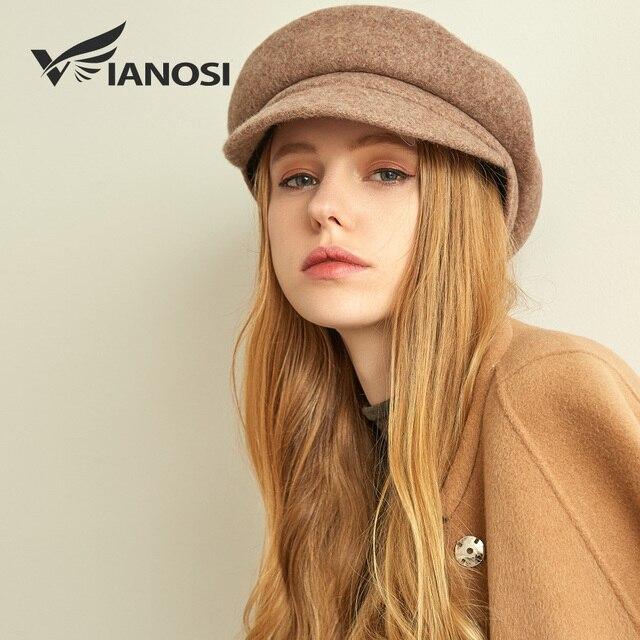 VIANOSI Beret Hat Women...