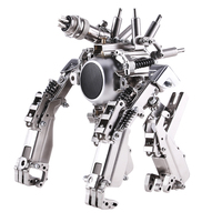 Machine planet 3D metal puzzle Gorilla ape robot model DIY creative Bluetooth sound birthday gift toys for adult