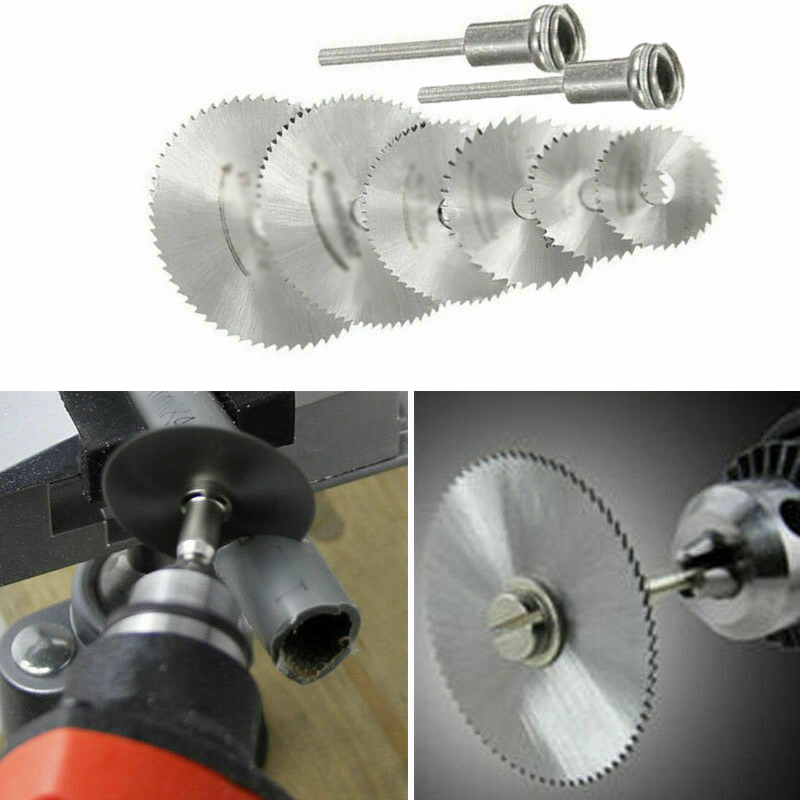 7pcs/Set Circular Oscillating Tool Accessories Set Drill Cutting Wheel Discs