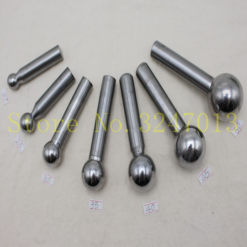 7PCS/SET Doming Punch Tool For Jewelry Tools