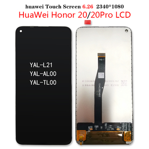 """Image 4 - Original Display for Huawei Nova 5T LCD Display Touch Screen Digitizer With Frame for 6.26"""" Huawei Honor 20 LCD YAL L21 Display"""