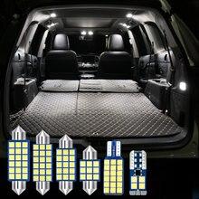 6 шт без ошибок авто светодиодный светильник для салона автомобиля