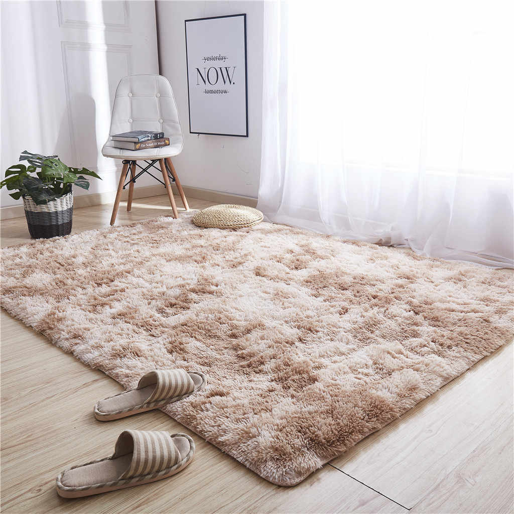 Living Room/Bedroom Rug Ultra Soft Modern Area Rugs Shaggy Nursery Rug Home Room Plush Carpet Decor 40x60cm Modern Carpet Mat 40