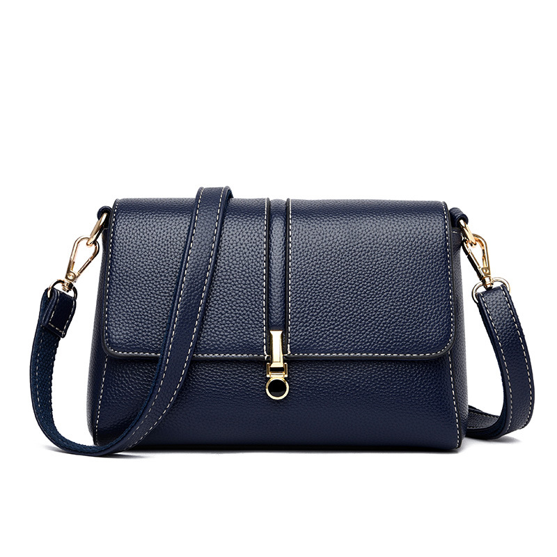New Fashion Women's Genuine Leather Handbags Hot Sale Small Flap Bags Ladies High Quality Shoulder Crossbody Bag For Women Messenger Bags
