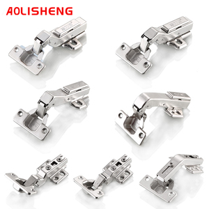 Image 1 - Free Shipping 90 Degree Special Angle Hinge  45 Degree 25 Degree Hydraulic Hinge Angle Corner Fold Cabinet Door Hinges Furniture