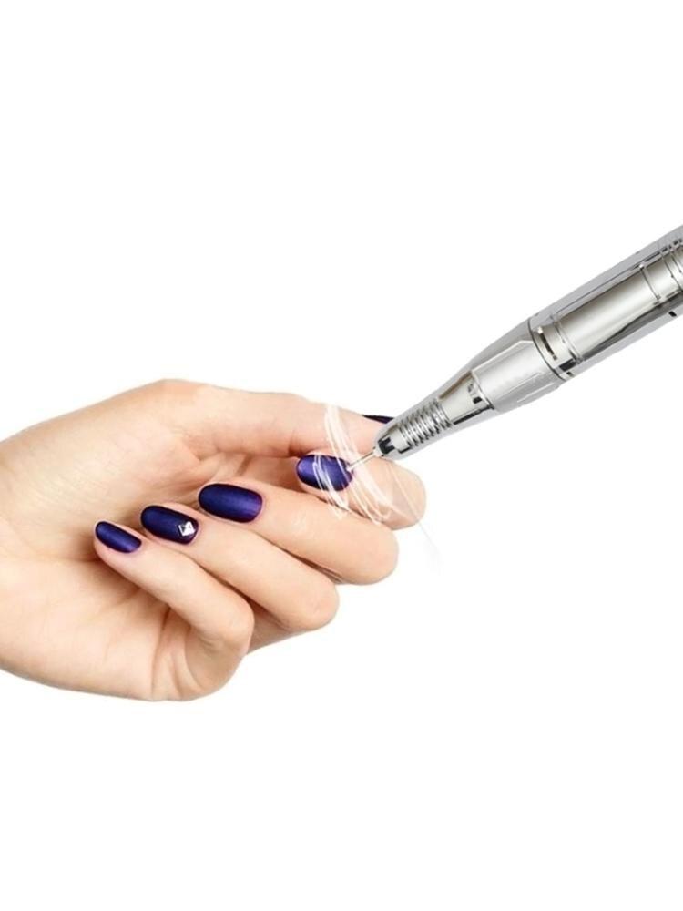 broca do prego manicure pedicure unha arquivo polones bits 05