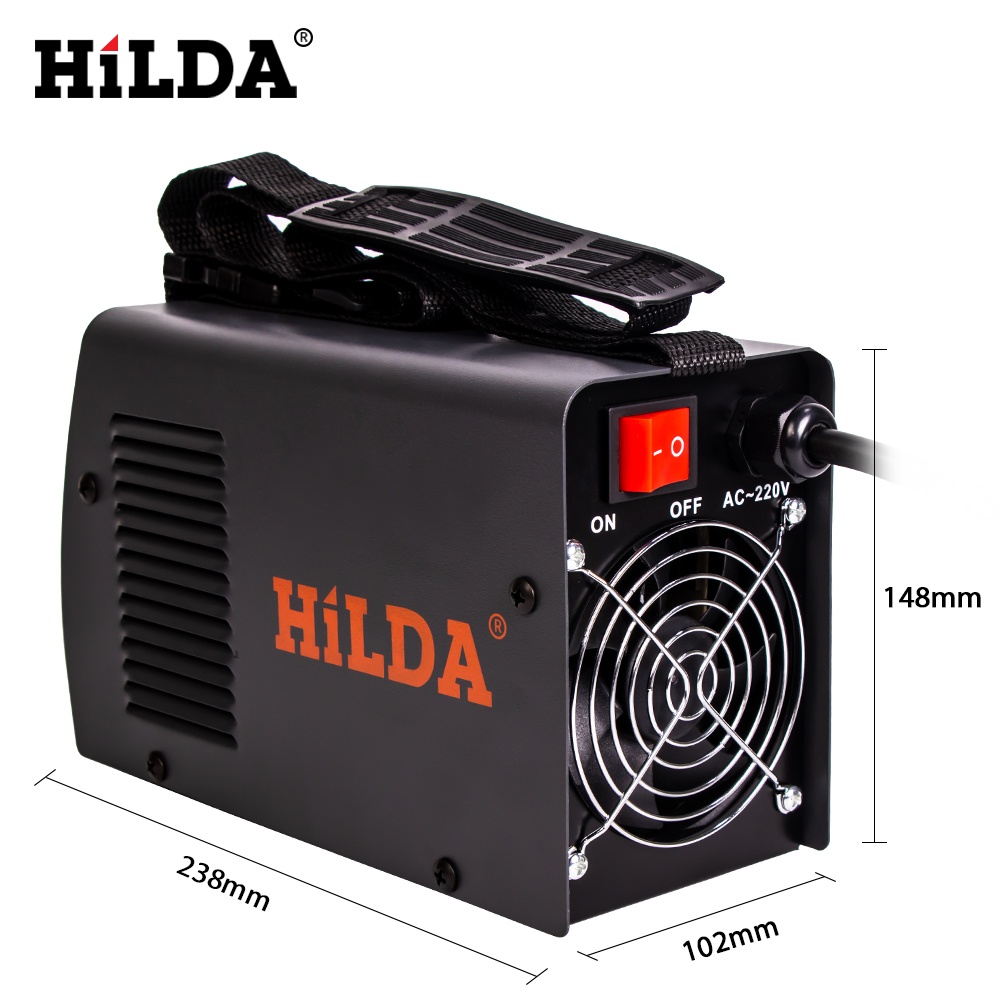 Image 5 - HILDA Welding Equipment Arc Welders Portable Welding Machine Efficient Inverter ARC Welder 220V AC for Home BeginnerArc Welders   - AliExpress
