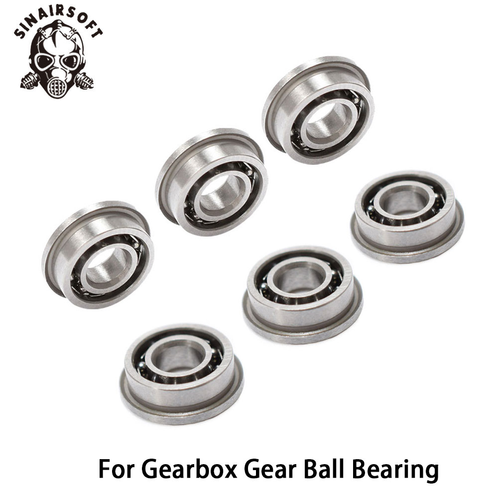 7mm Stainless Steel High Precision Ball Bearing Fit Airsoft AEG Ver.2/3 Gearbox For Hunting Paintball Shooting Accessories