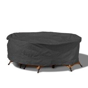 Image 5 - פוליאסטר חיצוני שולחן כיסוי מחנה פאטיו כיסוי ריהוט גן שולחן וכיסאות אטים לגשם Dustproof UV עמיד כסף ציפוי