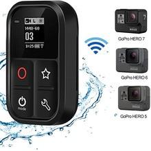 TELESIN Smart WiFi pilot wodoodporny kontroler kamery ze wskaźnikiem ekranu LCD dla Gopro Hero Black 7 6 5 Gopro Hero 8