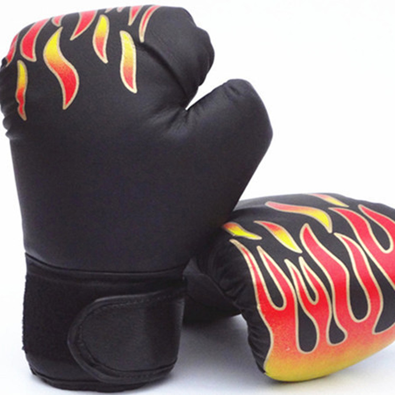 Muay Gloves Boxing Training Thai Children Sparring Fight Boys Girls Kick Useful Accessories Age 3-12
