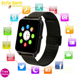 Nieuwe Z60 Smart Horloge Met Sim kaart Bluetooth SmartWatch Z60 relogio inteligente Smartwatch GT08 Plus reloj inteligente PK GT08 A1|Smart watches|Consumentenelektronica -