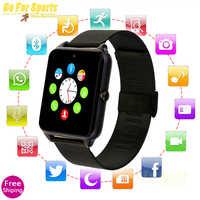 Novo z60 relógio inteligente com cartão sim bluetooth smartwatch z60 relogio inteligente gt08 plus reloj inteligente pk gt08 a1