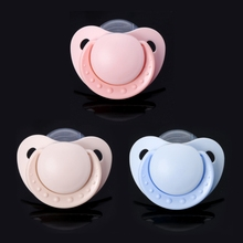 2018 Custom Big Size Food Grade Silicone Adult Pacifier Funny Parent-child Toys Y4QA