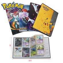 Pokemon 160pcs Cards Holder Album Toys for Children Collection Album Book Playing Trading Card Game Pokemon стоимость