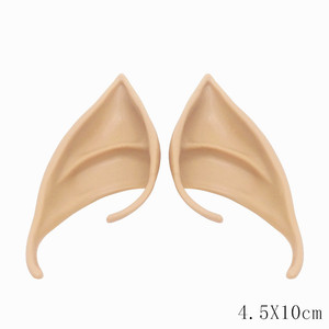 Image 3 - 1Pair Angel Elf Ears fairy Cos Mask Cosplay Accessories Latex Soft Prosthetic False Ear Halloween Party Masks