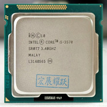 Intel Core I5-3570 I5 3570 Processor (6M Cache, 3.4 Ghz) lga 1155 Pc Computer Desktop Cpu Quad-Core Cpu Intel 3570(China)
