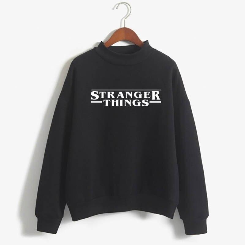 Stranger Things Official Television Series Men's Solid Logo Sweatshirt  Unisex STRANGER THINGS Hoodie - Stranger Things 16