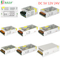 Switching Power Supply AC 110V 220V To DC 5V 12V 24V Power Adapter 1A 2A 3A 5A 10A 15A 20A 30A Lighting Transformer LED Driver