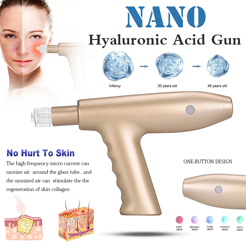 Hyaluronic Acid Injection Pen Meso Mesotherapy Water Injection Gun Face Skin Care Beauty Machine Rejuvenation No Needle Injectio