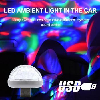 2020 nowy wielokolorowy zestaw samochodowy USB RGB LED oświetlenie wnętrza samochodu nastrojowe oświetlenie neonowe akcesoria samochodowe TXTB1 tanie i dobre opinie CN (pochodzenie) Klimatyczna lampa 30cm PVC + LED 0 6 A red blue Green yellow white black