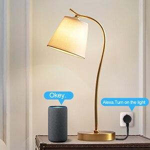 Image 5 - TOPESEL WiFi Thông Minh Cắm EU, Bộ Chuyển Đổi Không Dây Từ Xa Điều Khiển Giọng Nói Năng Lượng Tiết Kiệm Ổ Cắm Hẹn Giờ Cho Alexa Google Home