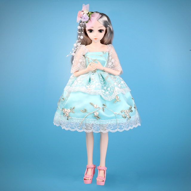 UCanaan BJD Doll 1 4 SD 18 Ball Jointed 45 CM Dolls with Clothes Outfit Shoes