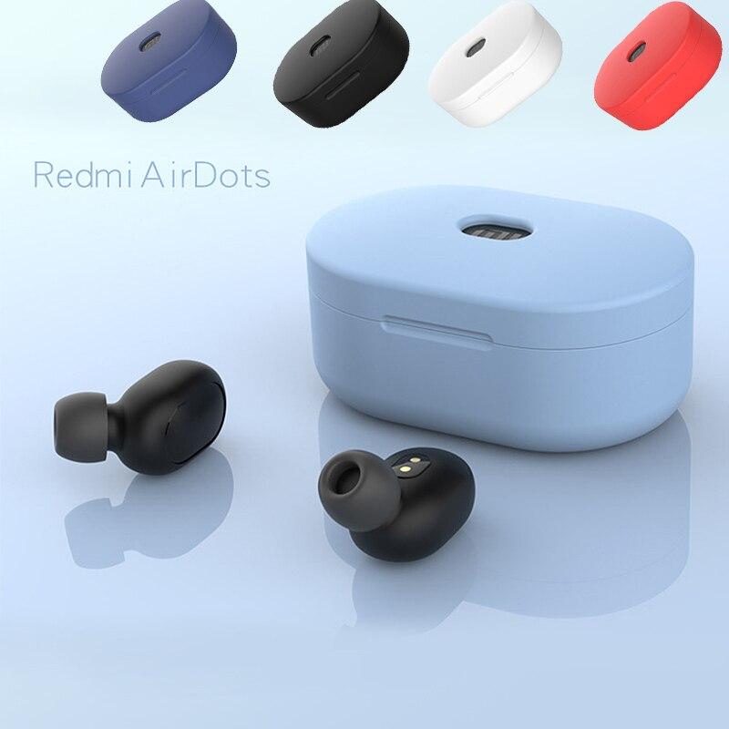 113.7руб. 30% СКИДКА|Для Bluetooth наушников Auriculares защитный чехол для Xiao mi Red mi Airdots Tws mi Air Dots беспроводной Heaphone для Xio mi Airdots|Наушники и гарнитуры| |  - AliExpress