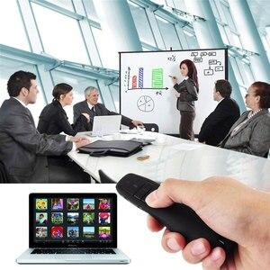 Image 2 - 2.4Ghz USB Wireless Presenter Pointer Slide Power Point Clicker Remote Control Laser Pen PPT Presentation Pointer Remote Control