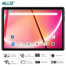 Mllse tablet 10 polegada octa núcleo android 9.0 os 6gb ram 64gb rom 1280x800 ips 5.0mp câmera youtube mídia 8 núcleo almofada
